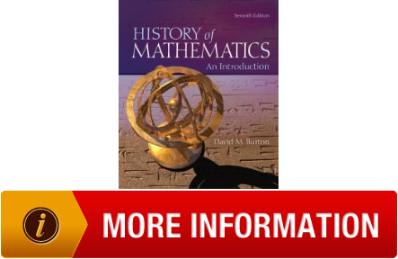 an introduction to the history of math Likely introduction of the egyptian calendar (some hypothesize 4241 bce as  the origin) 2500 bce great pyramidthe great pyramid was built by the.